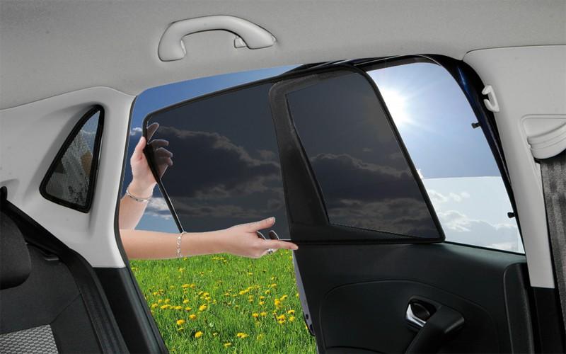 ClimAir 3978d Sonnenblenden f/ür Fenster schwarz